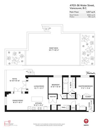 """Photo 20: PH3 36 WATER Street in Vancouver: Downtown VW Condo for sale in """"TERMINUS"""" (Vancouver West)  : MLS®# R2082070"""