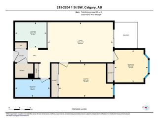 Photo 17: 215 2204 1 Street SW in Calgary: Mission Apartment for sale : MLS®# A1092168