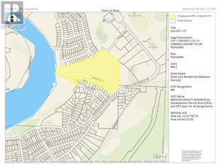 Photo 2: LOT 1 NADEAU STREET in Quesnel: Vacant Land for sale : MLS®# R2624636