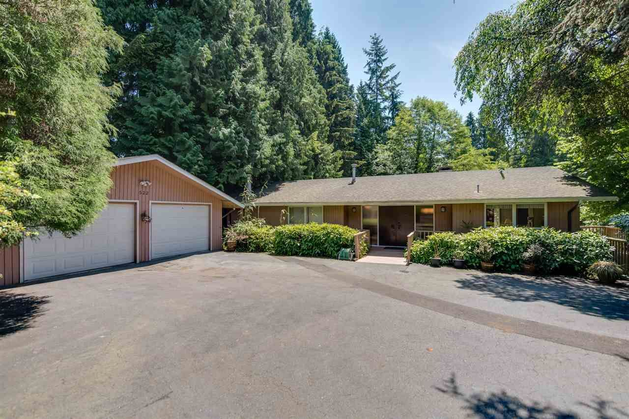 Main Photo: 522 NEWDALE PLACE in West Vancouver: Cedardale House for sale : MLS®# R2184215