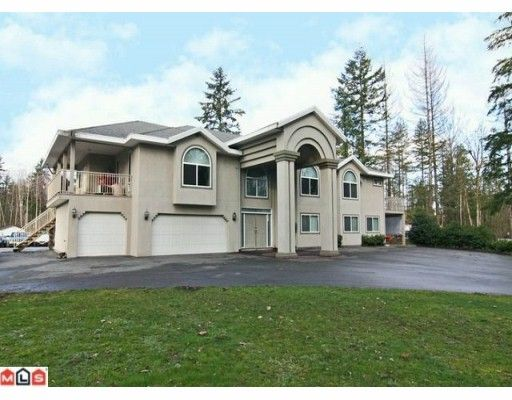Main Photo: 21939 24TH Avenue in Langley: Campbell Valley House for sale : MLS®# F1003633