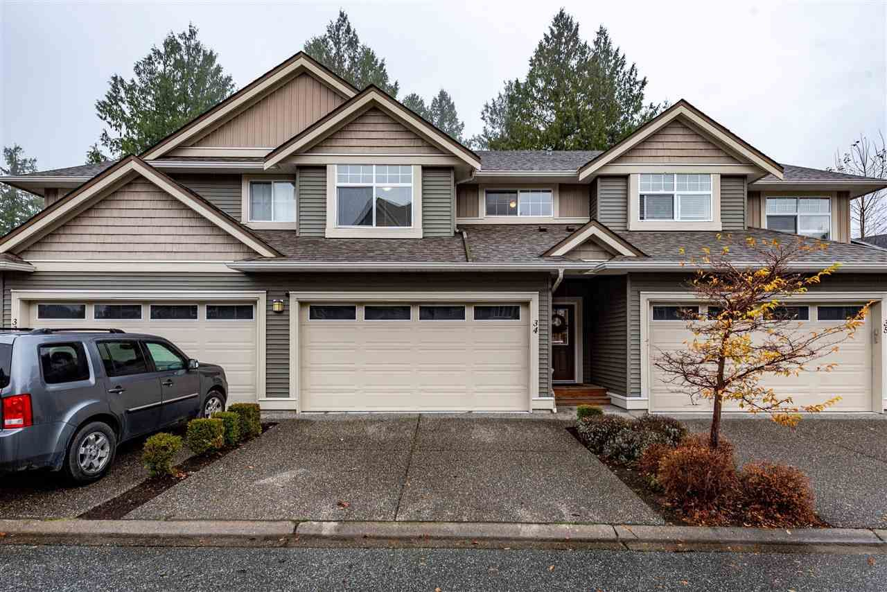 """Main Photo: 34 5648 PROMONTORY Road in Chilliwack: Promontory Townhouse for sale in """"The Gables at Copper Creek"""" (Sardis)  : MLS®# R2519830"""