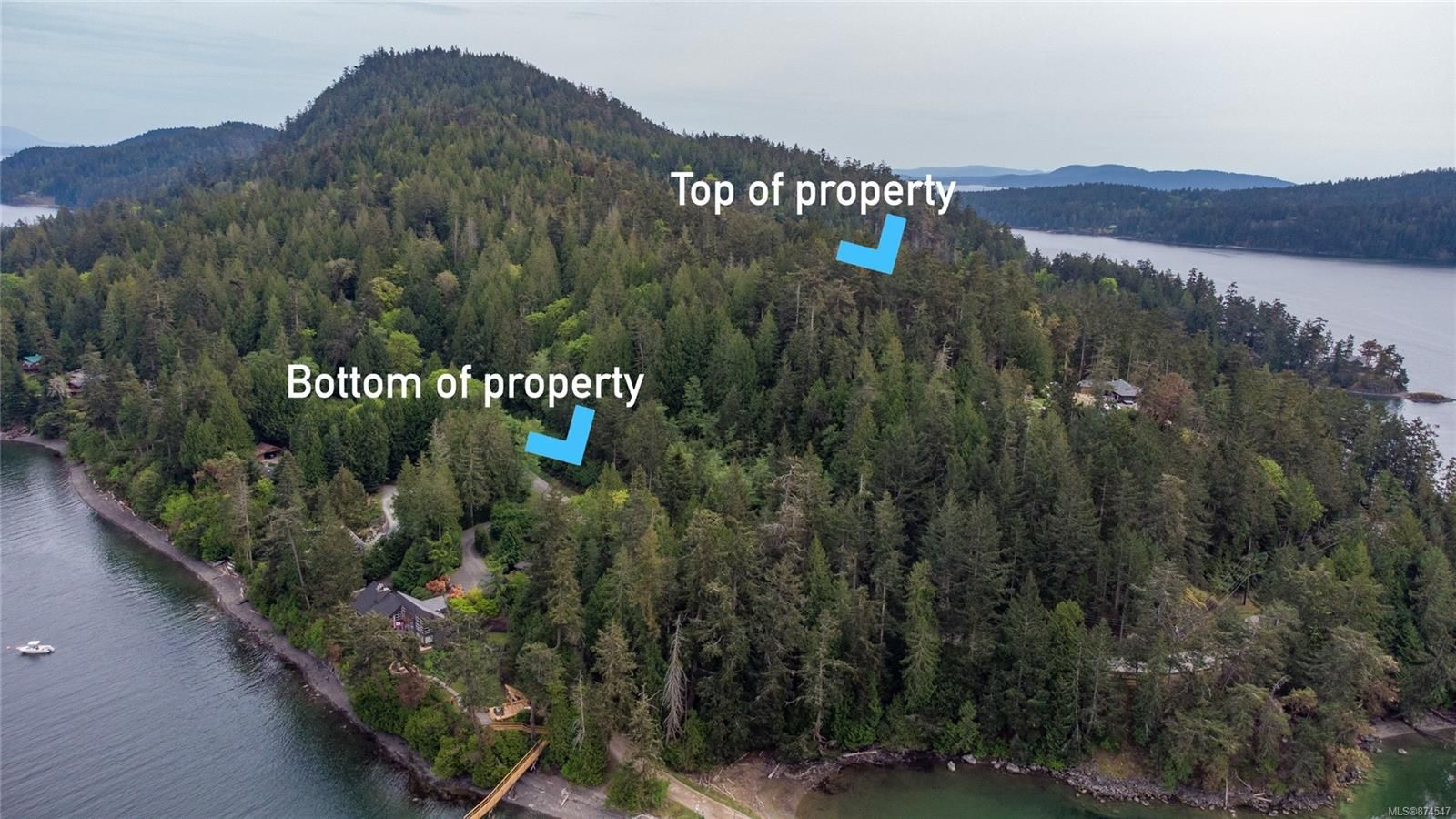 Main Photo: 8803 Canal Rd in : GI Pender Island Land for sale (Gulf Islands)  : MLS®# 874547