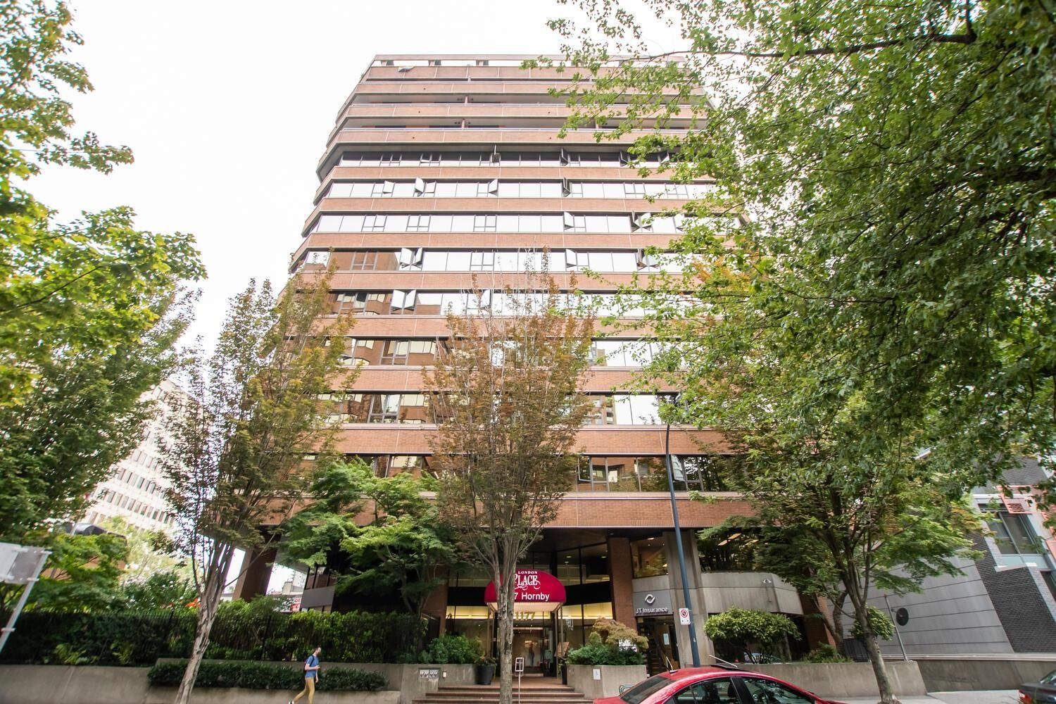 """Main Photo: 814 1177 HORNBY Street in Vancouver: Downtown VW Condo for sale in """"LONDON PLACE"""" (Vancouver West)  : MLS®# R2611424"""