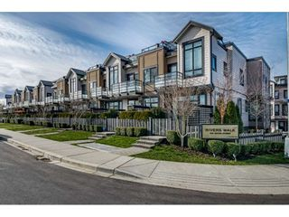 """Photo 1: 8 100 WOOD Street in New Westminster: Queensborough Townhouse for sale in """"Rivers Walk"""" : MLS®# R2439146"""