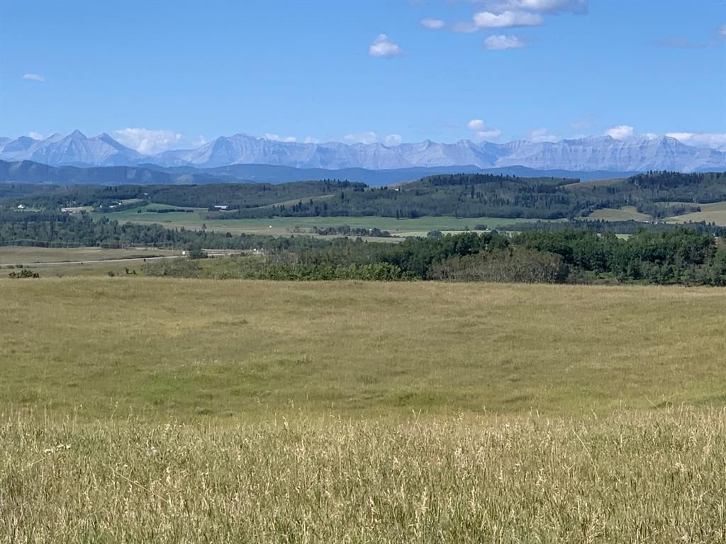 Main Photo: Highway 549 and 176 St W: Rural Foothills County Residential Land for sale : MLS®# A1141673
