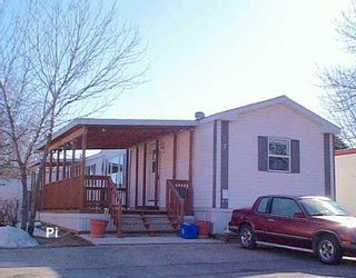 Photo 1: 7 SILVERDALE Crescent in Winnipeg: St Vital Mobile Home for sale (South East Winnipeg)  : MLS®# 2604314