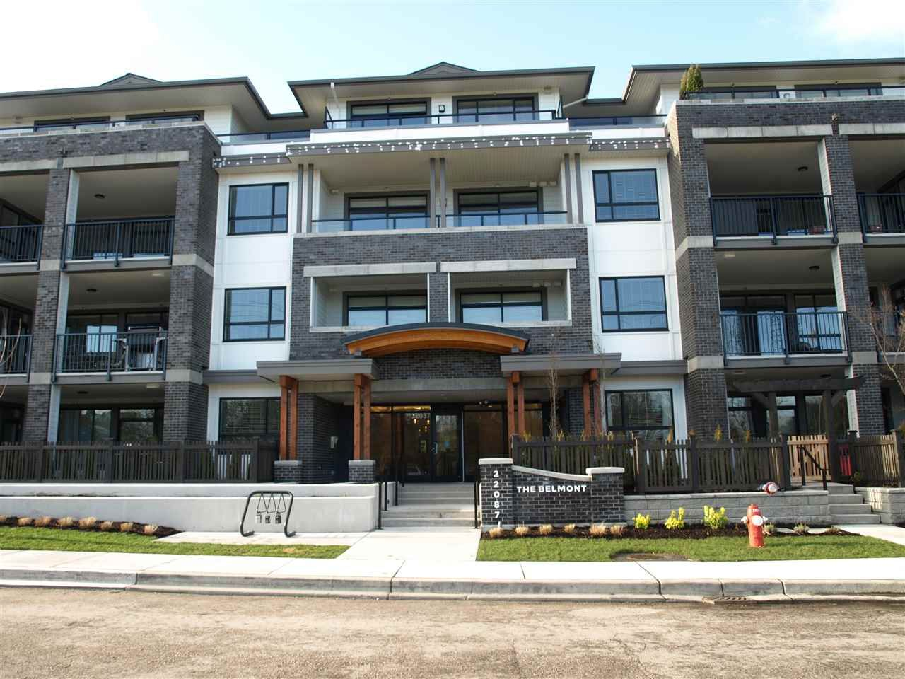 """Main Photo: 406 22087 49 Avenue in Langley: Murrayville Condo for sale in """"Belmont"""" : MLS®# R2367757"""