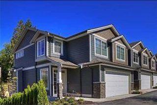 """Photo 1: 4 11384 BURNETT Street in Maple Ridge: East Central Townhouse for sale in """"MAPLE CREEK LIVING"""" : MLS®# R2132033"""