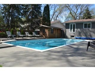 Photo 16: 19 Musgrove Street in WINNIPEG: Charleswood Residential for sale (South Winnipeg)  : MLS®# 1411763