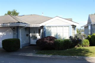 "Photo 1: 130 28 RICHMOND Street in New Westminster: Fraserview NW Townhouse for sale in ""Castle Ridge"" : MLS®# R2466235"
