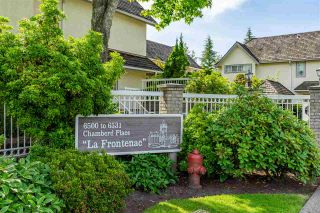 """Photo 1: 47 6521 CHAMBORD Place in Vancouver: Fraserview VE Townhouse for sale in """"La Frontenac"""" (Vancouver East)  : MLS®# R2469378"""