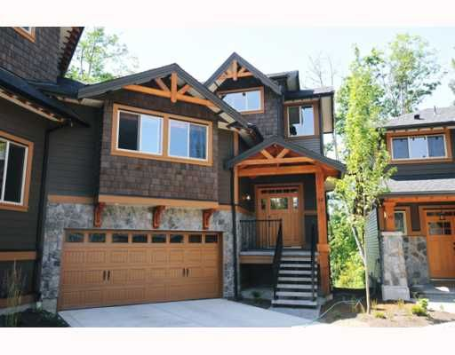 """Main Photo: 69 24185 106B Avenue in Maple Ridge: Albion 1/2 Duplex for sale in """"TRAILS EDGE"""" : MLS®# V796163"""