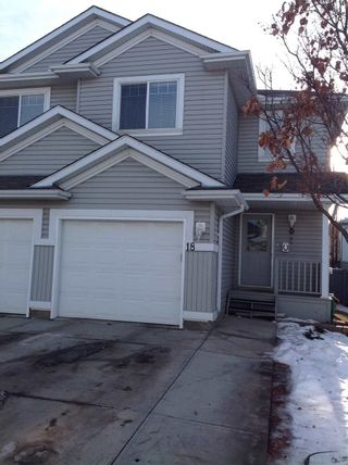 Photo 2: 18, 13403 CUMBERLAND Road in Edmonton: Zone 27 House Half Duplex for sale : MLS®# E4235361