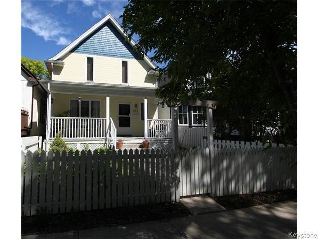 Main Photo: 647 Ashburn Street in Winnipeg: West End / Wolseley Residential for sale (West Winnipeg)  : MLS®# 1615292