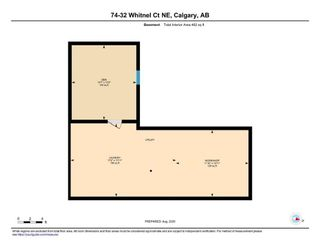 Photo 32: 74 32 WHITNEL Court NE in Calgary: Whitehorn Row/Townhouse for sale : MLS®# A1016839
