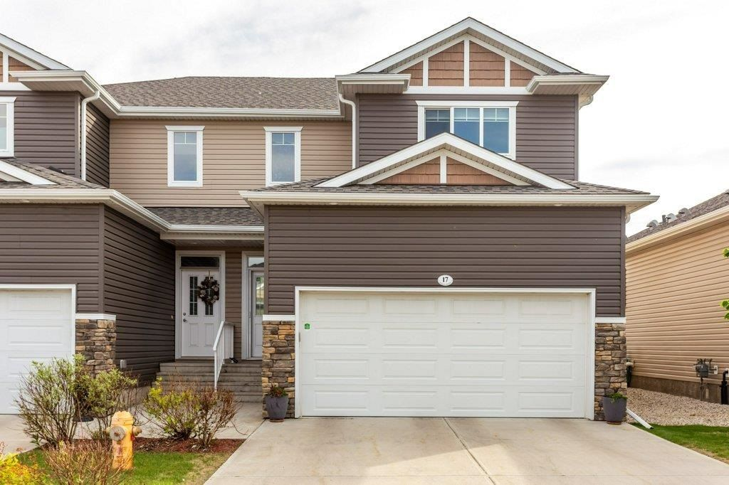 Main Photo: 17 18230 104A Street in Edmonton: Zone 27 Townhouse for sale : MLS®# E4250224