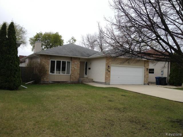 Main Photo: 114 Beechtree Crescent in WINNIPEG: St Vital Residential for sale (South East Winnipeg)  : MLS®# 1512269