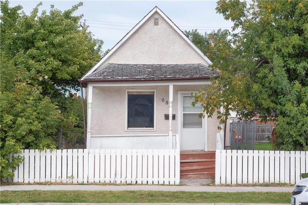 Main Photo: 685 Burrows Avenue in Winnipeg: North End Residential for sale (4A)  : MLS®# 202122775