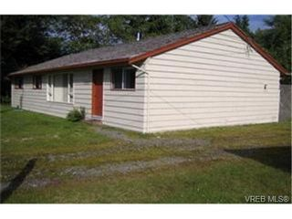 Photo 2:  in PORT RENFREW: Sk Port Renfrew House for sale (Sooke)  : MLS®# 379526