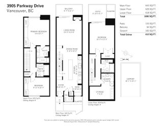 Photo 20: 3905 PARKWAY DRIVE in Vancouver: Quilchena Townhouse for sale (Vancouver West)  : MLS®# R2608829