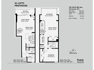 Photo 9: PH704 428 W 8th Avenue in Vancouver: Condo for sale : MLS®# V1034945