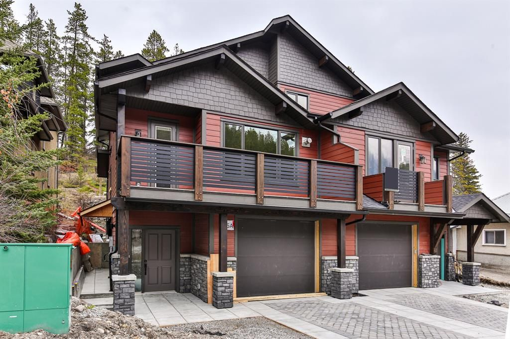 Main Photo: 256A Three Sisters Drive: Canmore Semi Detached for sale : MLS®# A1131520