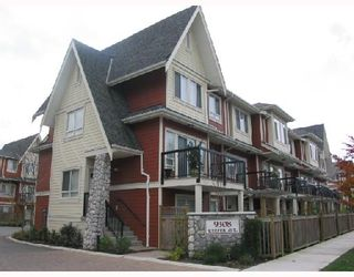 """Photo 1: 12 9308 KEEFER Avenue in Richmond: McLennan North Townhouse for sale in """"VANDA"""" : MLS®# V677111"""