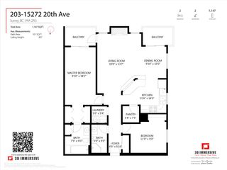"""Photo 34: 203 15272 20 Avenue in Surrey: King George Corridor Condo for sale in """"Windsor Court"""" (South Surrey White Rock)  : MLS®# R2538483"""