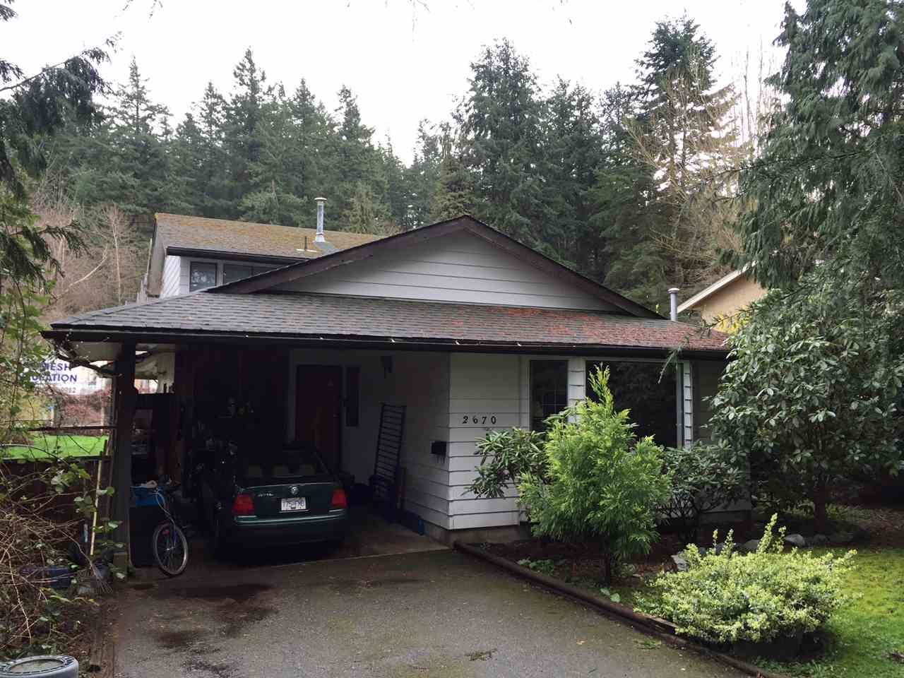 """Main Photo: 2670 127A Street in Surrey: Crescent Bch Ocean Pk. House for sale in """"Ocean Park Crescent Beach"""" (South Surrey White Rock)  : MLS®# R2045182"""