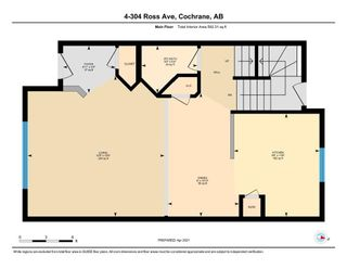 Photo 31: 4 304 Ross Avenue: Cochrane Row/Townhouse for sale : MLS®# A1090345