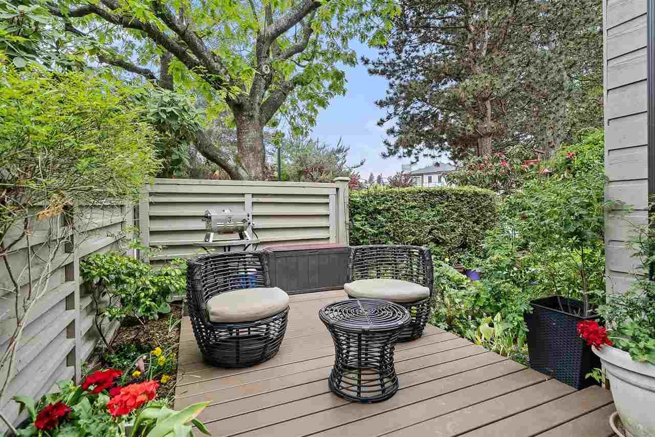 """Main Photo: 2199 MCMULLEN Avenue in Vancouver: Quilchena Townhouse for sale in """"ARBUTUS VILLAGE"""" (Vancouver West)  : MLS®# R2586427"""