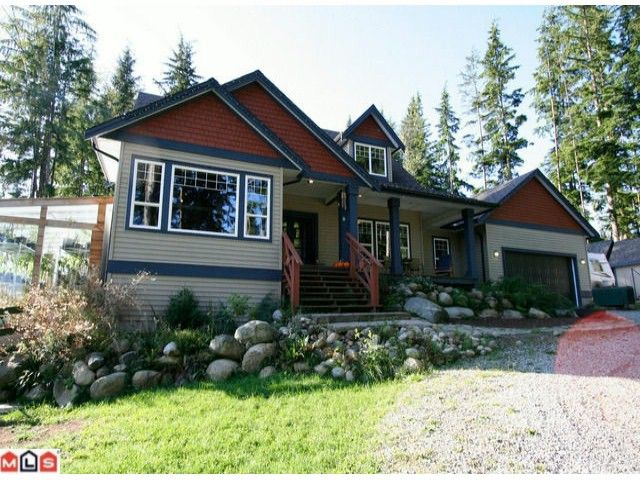 """Main Photo: 12629 POWELL Street in Mission: Stave Falls House for sale in """"Stave Falls"""" : MLS®# F1118663"""