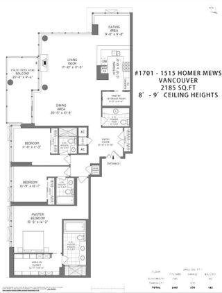"Photo 24: 1701 1515 HOMER Mews in Vancouver: Yaletown Condo for sale in ""Kings Landing"" (Vancouver West)  : MLS®# R2605308"