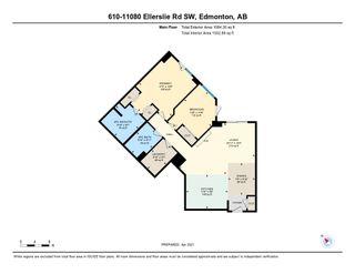 Photo 2: 610 11080 ELLERSLIE Road in Edmonton: Zone 55 Condo for sale : MLS®# E4237568