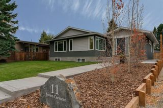 Photo 1: 11 Brown Crescent NW in Calgary: Brentwood Detached for sale : MLS®# A1062319