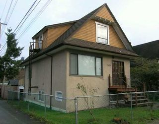 Photo 1: 2636 PRINCE ALBERT Street in Vancouver: Mount Pleasant VE House for sale (Vancouver East)  : MLS®# V624764
