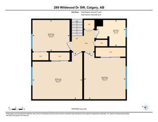 Photo 35: 289 WILDWOOD Drive SW in Calgary: Wildwood Detached for sale : MLS®# A1019116