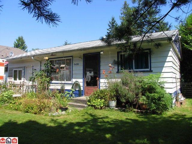 Main Photo: 14151 KINDERSLEY Drive in Surrey: Bolivar Heights House for sale (North Surrey)  : MLS®# F1225826