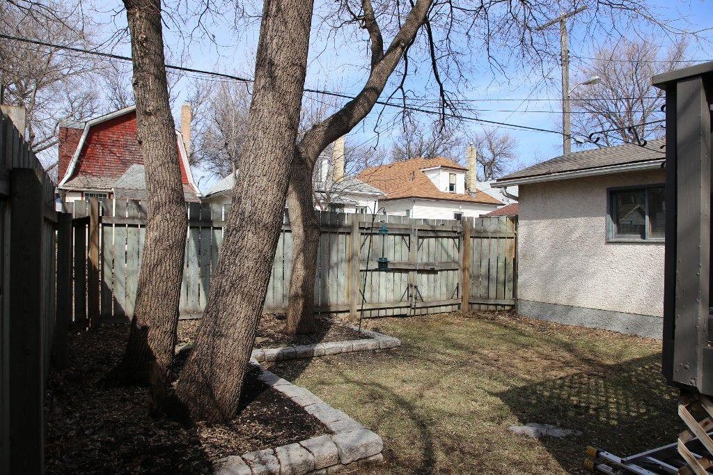 Photo 59: Photos: 224 Lipton Street in winnipeg: Wolseley Single Family Detached for sale (West Winnipeg)  : MLS®# 1407760