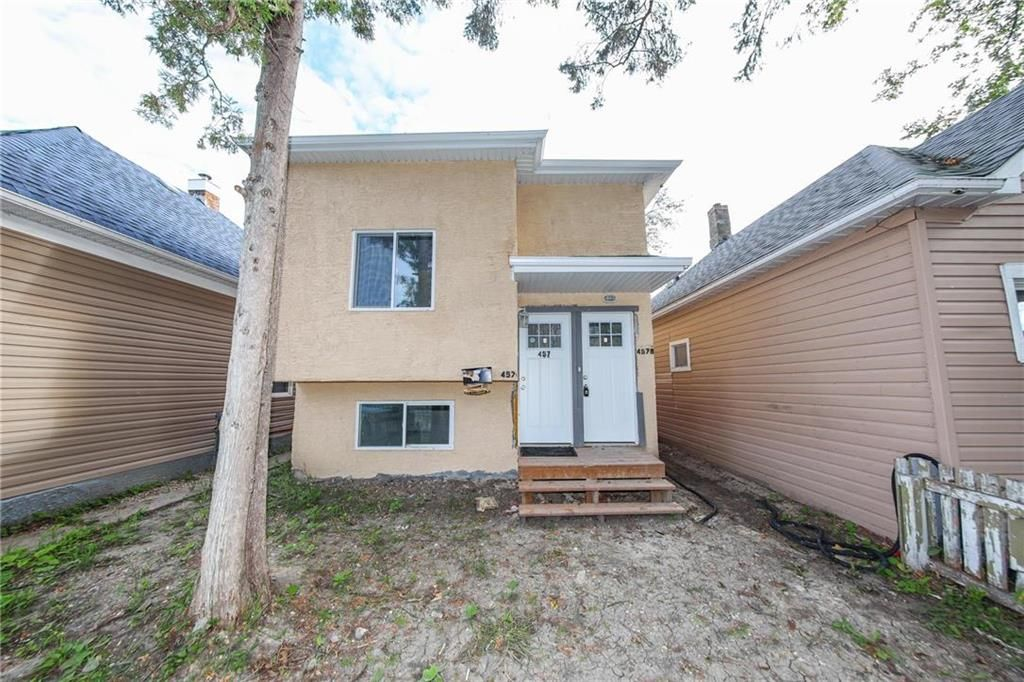 Main Photo: 457 Aberdeen Avenue in Winnipeg: North End Residential for sale (4A)  : MLS®# 202123231