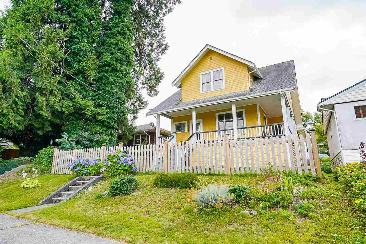 """Main Photo: 612 COLBORNE Street in New Westminster: GlenBrooke North House for sale in """"GLENBROOKE NORTH"""" : MLS®# R2487394"""
