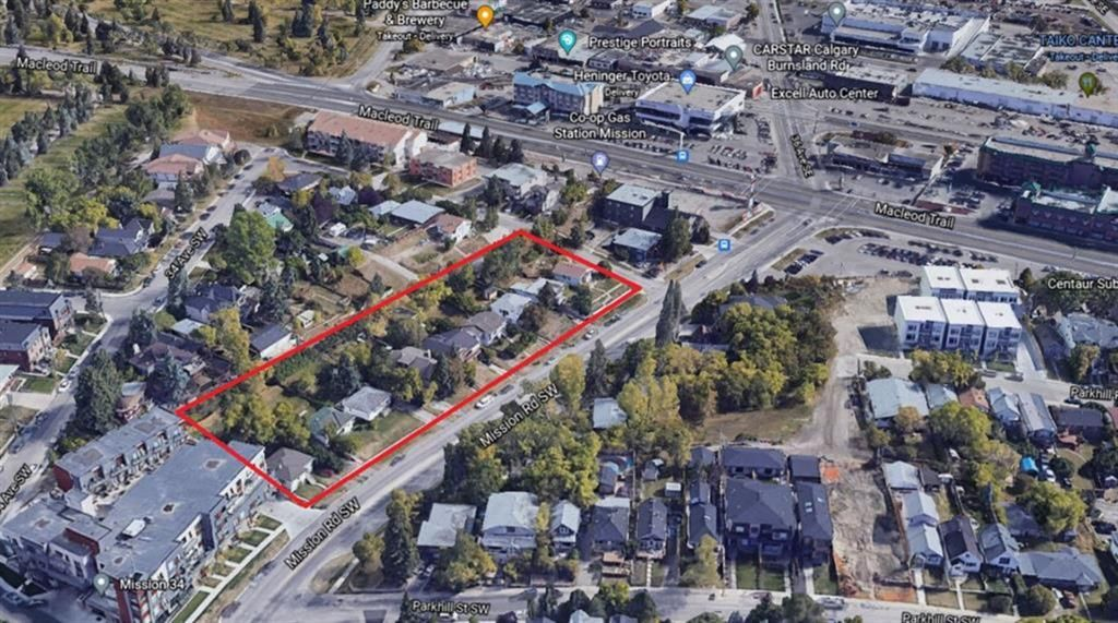 Main Photo: 76, 82, 86 Mission Road SW in Calgary: Parkhill Multi Family for sale : MLS®# A1115680