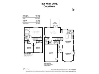 """Photo 20: 1228 RIVER Drive in Coquitlam: River Springs House for sale in """"RIVER SPRINGS"""" : MLS®# R2449831"""
