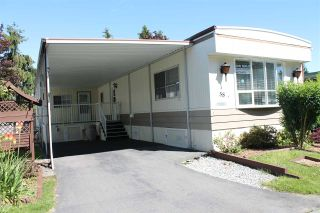 "Photo 1: 58 15875 20TH Avenue in Surrey: King George Corridor Manufactured Home for sale in ""SEA RIDGE BAYS"" (South Surrey White Rock)  : MLS®# R2178456"