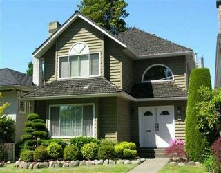 Photo 1: 2233 W 47TH AV in Vancouver: Kerrisdale House for sale (Vancouver West)  : MLS®# V599348