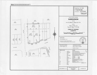 Photo 4: 50 Street 53 Avenue: Thorsby Vacant Lot for sale : MLS®# E4257268