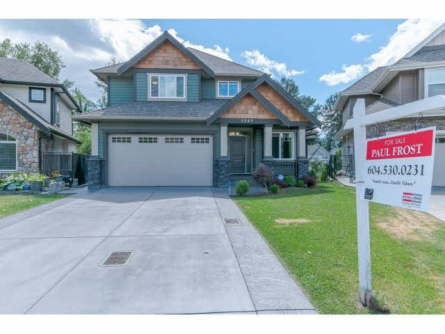 Main Photo: 3349 273RD STREET in : Aldergrove Langley House for sale : MLS®# F1444205