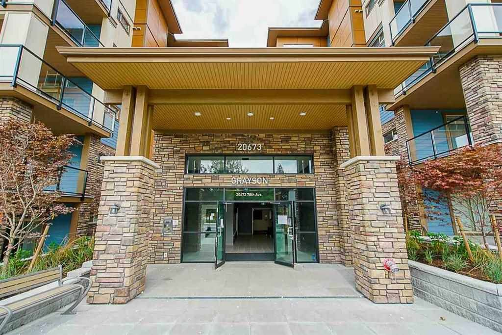 "Main Photo: 114 20673 78 Avenue in Langley: Willoughby Heights Condo for sale in ""The Grayson"" : MLS®# R2538735"