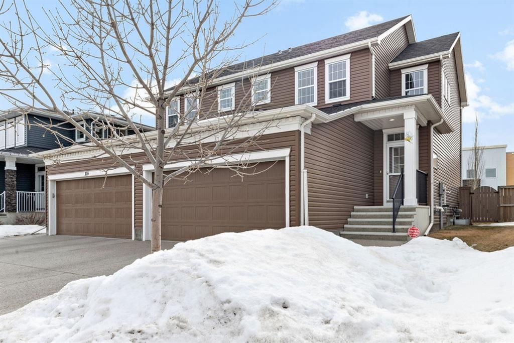Main Photo: 99 Evanswood Circle NW in Calgary: Evanston Semi Detached for sale : MLS®# A1077715